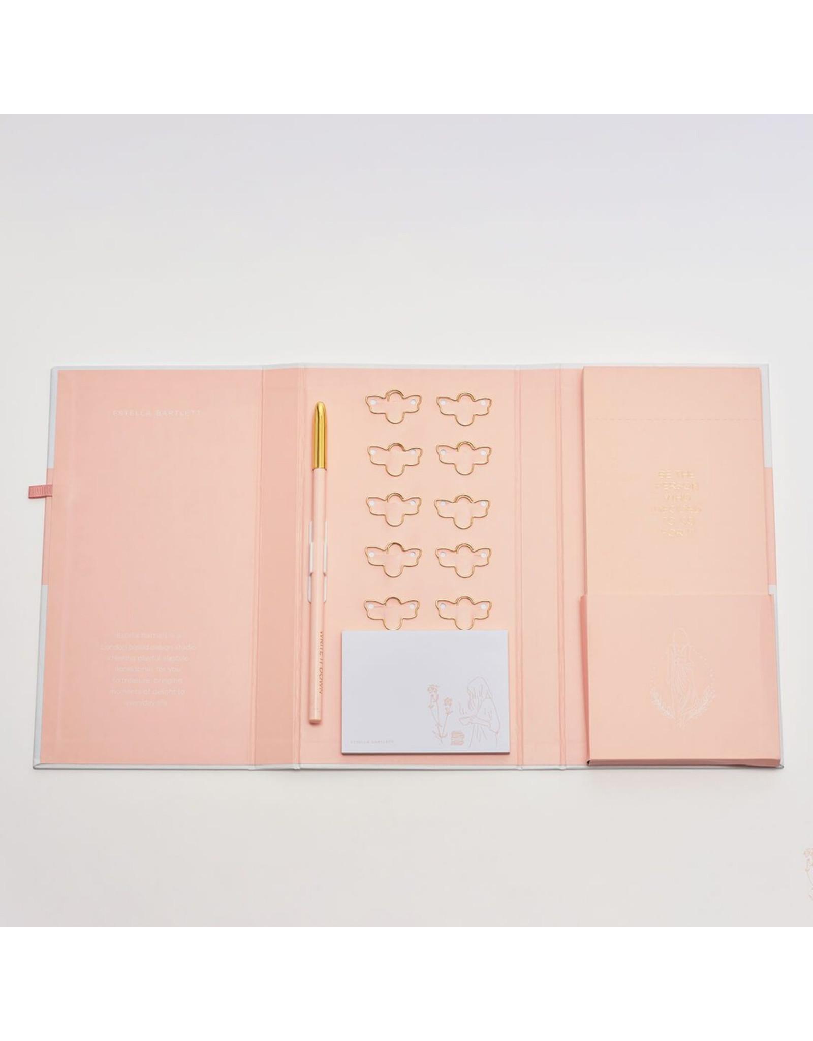 Estella Bartlett Notepad Set - Shopping List - Blush
