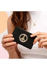 Estella Bartlett Kaarthouder - Peace - Zwart