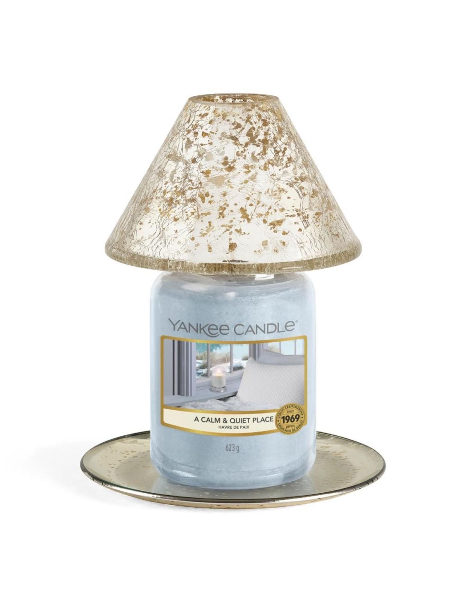 Yankee Candle Kensington - Large Shade & Tray Crackle