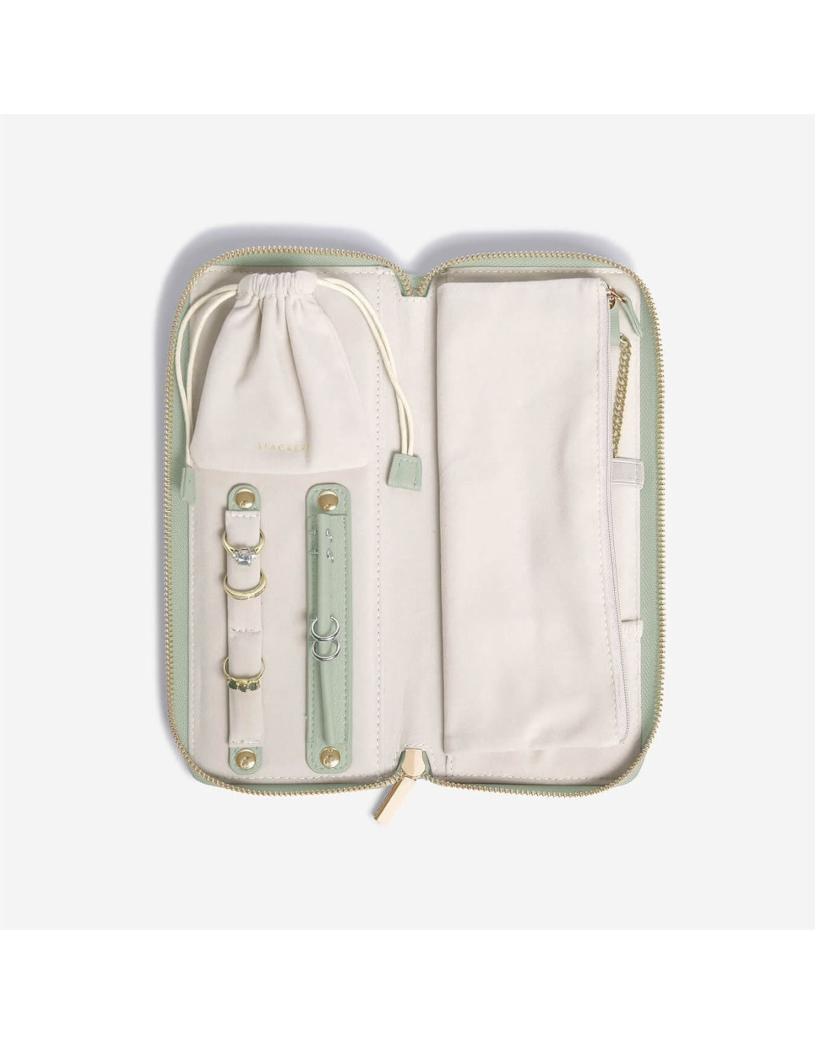 Stackers Sage Green - Jewellery Roll