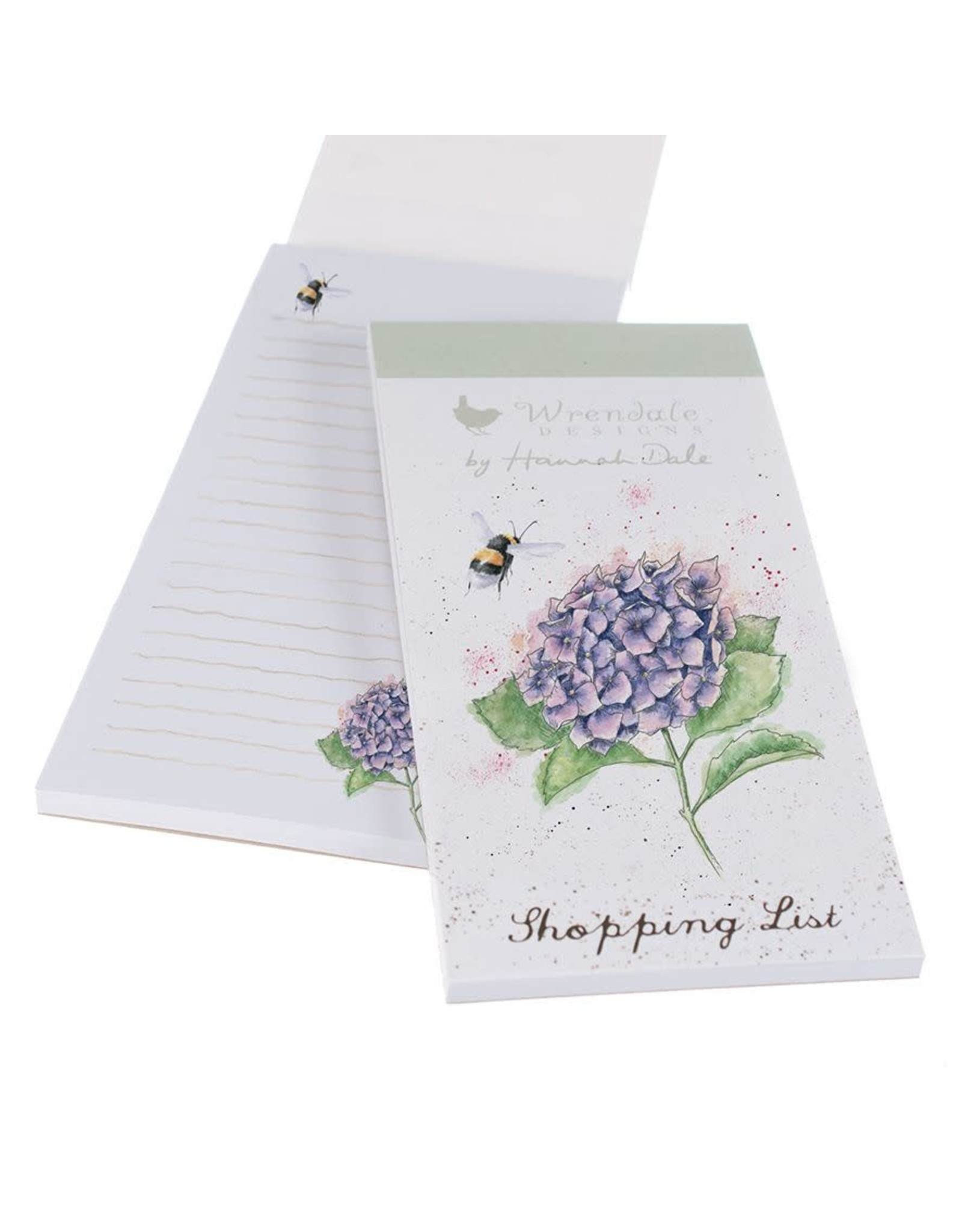 Wrendale Shopping List - Bee and Hydrangea