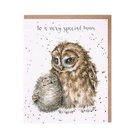 Wrendale Wenskaart - Owl always Love You