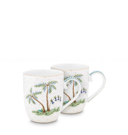 Pip Studio Jolie - Set 2 tassen - Small 145ml