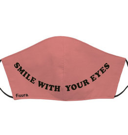 Fisura Mondmasker - Smile with your Eyes - Pink