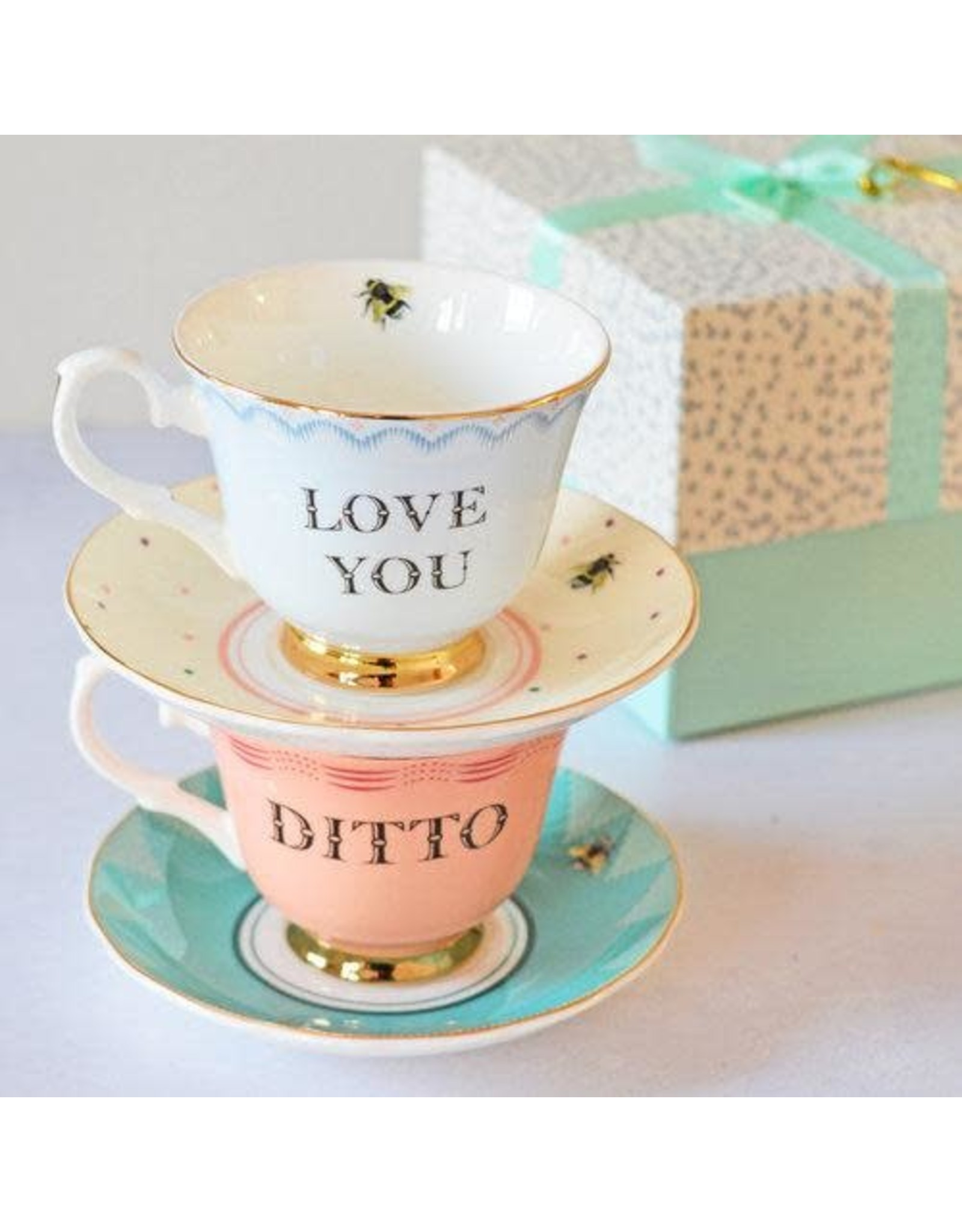 Yvonne Ellen British - Theeset/2 - Love You & Ditto