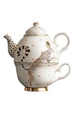 Yvonne Ellen Animals - Tea For One - Cheetah