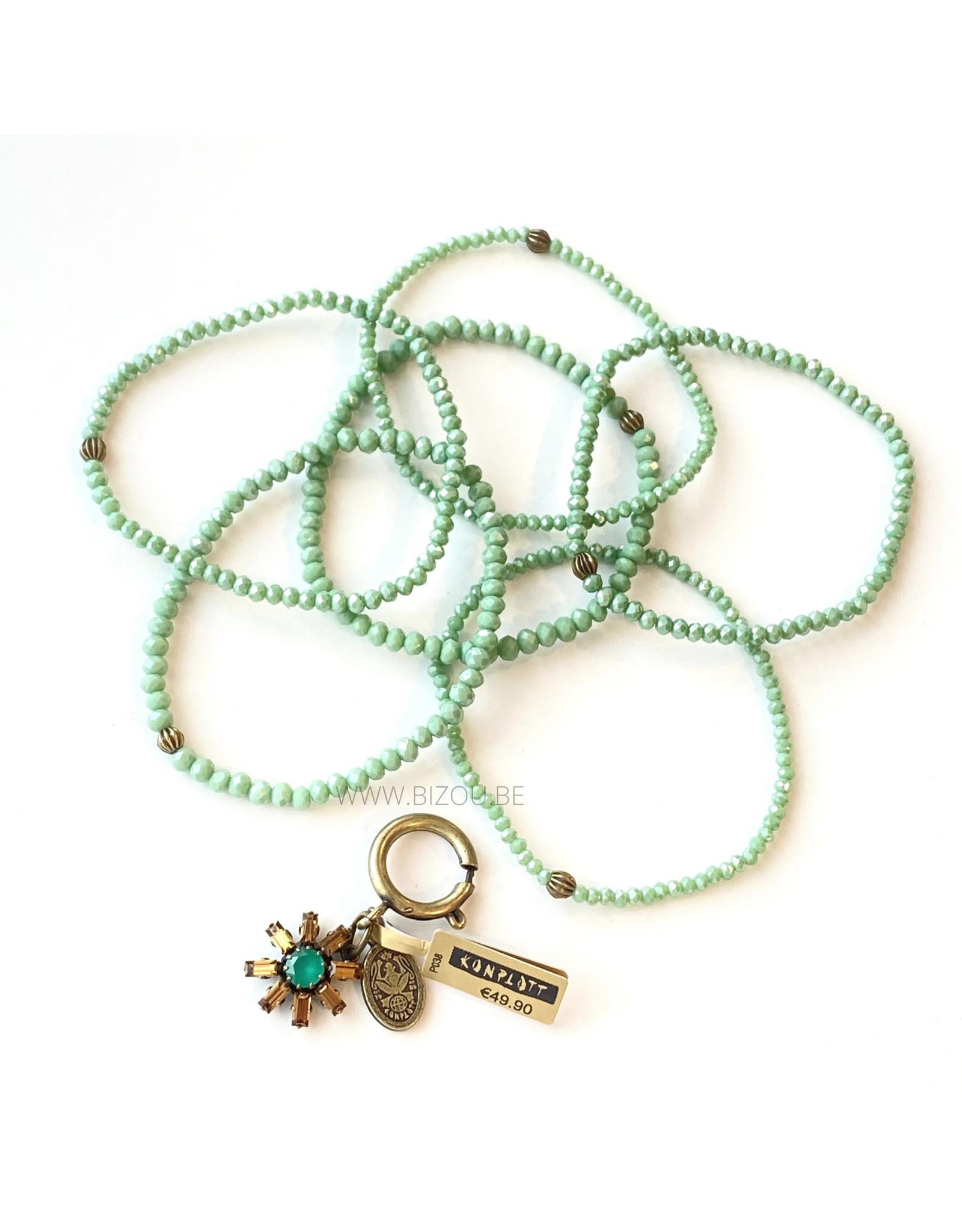 Konplott Daisy Spider - Groen Armband