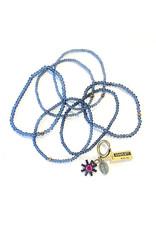 Konplott Spider Daisy - Paars/Navy Armband
