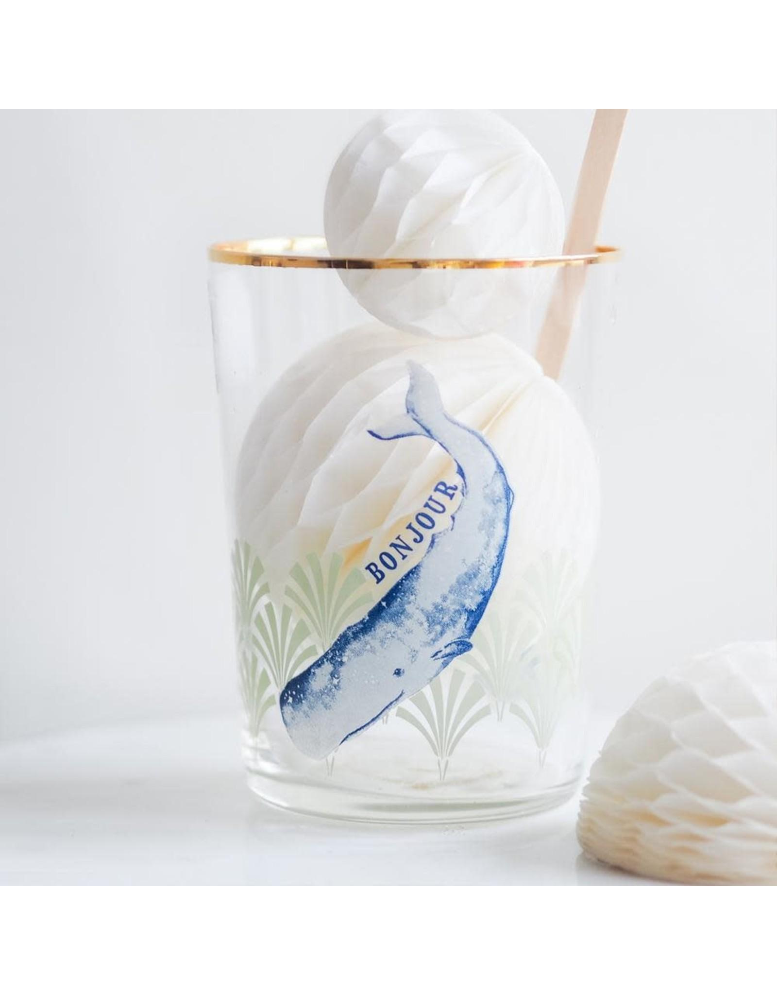 Yvonne Ellen Animals - Cocktail Glas - Whale