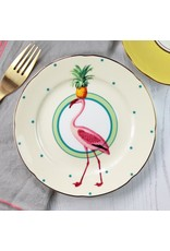 Yvonne Ellen Animals - Flamingo - Set/2 Cake Plate 16cm