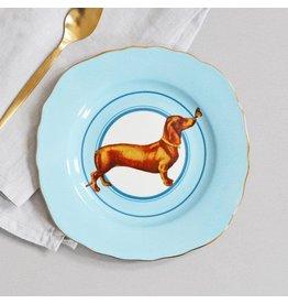 Yvonne Ellen Animals - Sausage Doggie - Set/2 Cake Plate 16cm