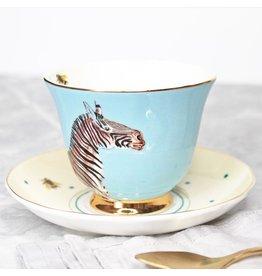 Yvonne Ellen Animals - Zebra Teacup & Saucer