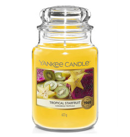 Yankee Candle Tropical Starfruit - Large Jar