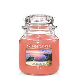 Yankee Candle Cliffside Sunrise - Medium Jar