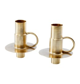 vtwonen Set/2 Bottle Candle Holders