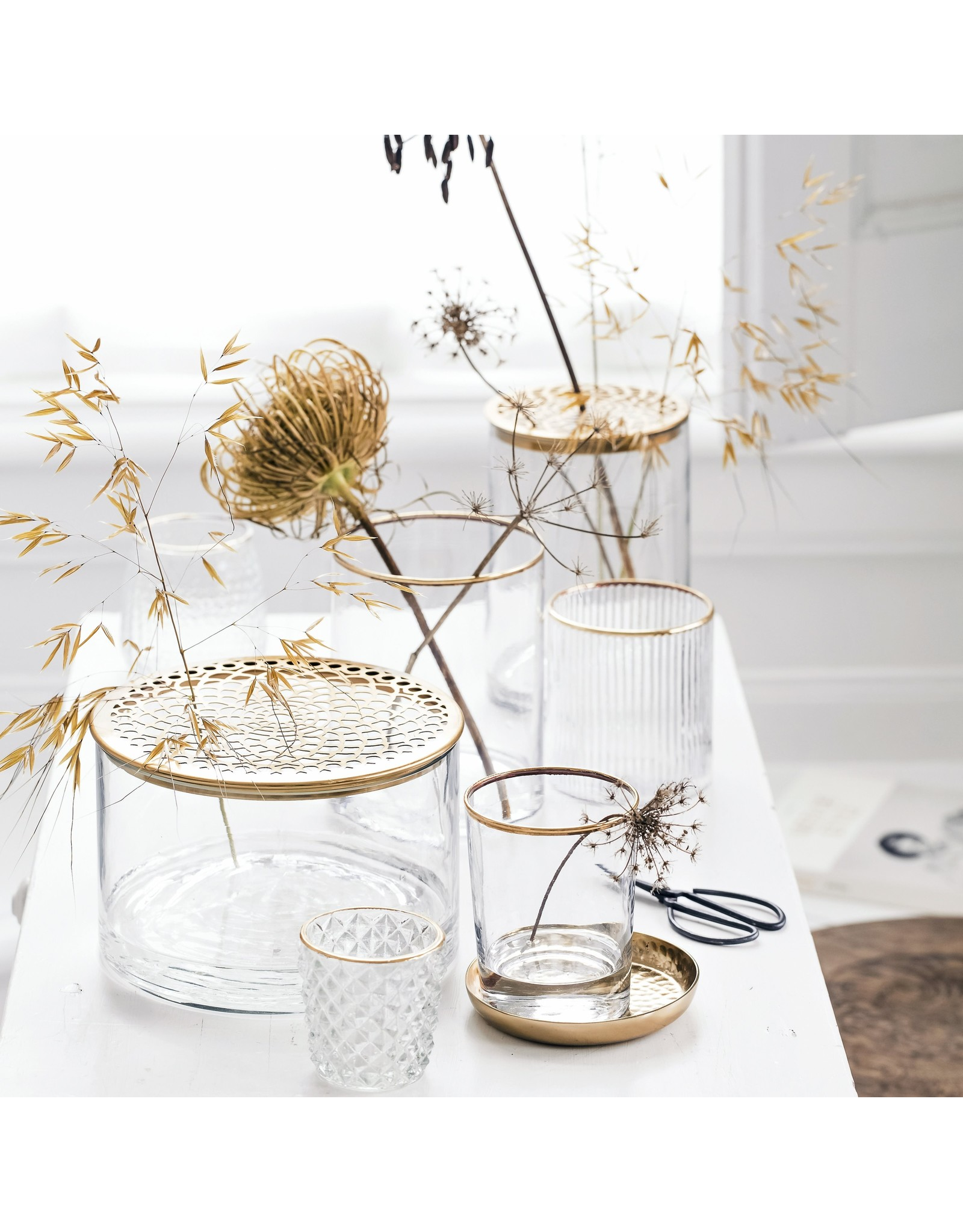 vtwonen Decoratief glas - Geruit