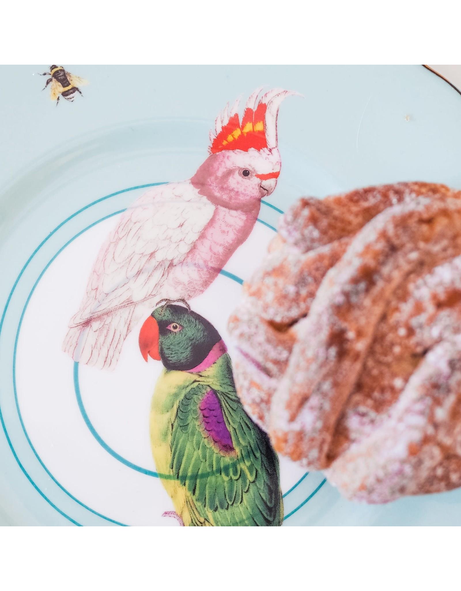 Yvonne Ellen Animals - Parrot - Set/2 Borden 22cm