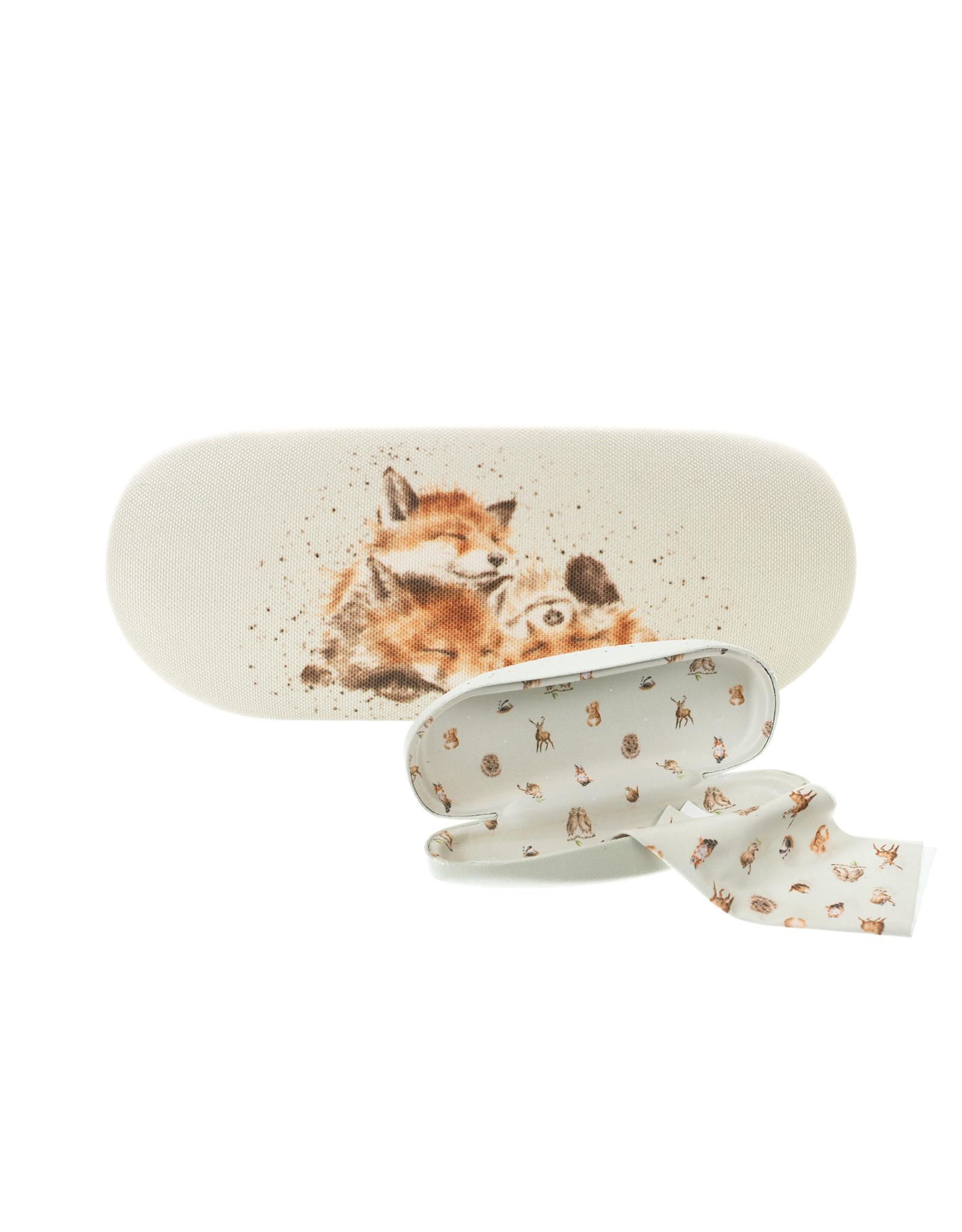 Wrendale Brillendoos - Foxes