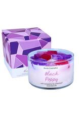 Bomb Cosmetics Geurkaars Jelly - Black Poppy