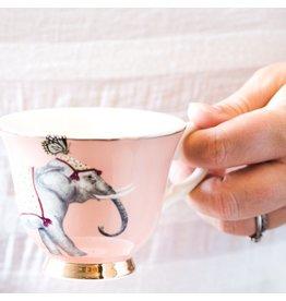 Yvonne Ellen Animals - Carnival Elephant Teacup & Saucer