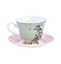 Yvonne Ellen Animals - Safari Tiger Teacup & Saucer