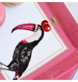 Yvonne Ellen Animals - Toucan Serveerschotel