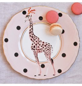 Yvonne Ellen Animals - Giraffe - Set/2 Borden 22cm