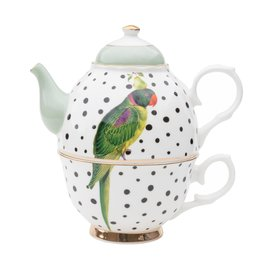 Yvonne Ellen Animals - Tea for One - Parrot