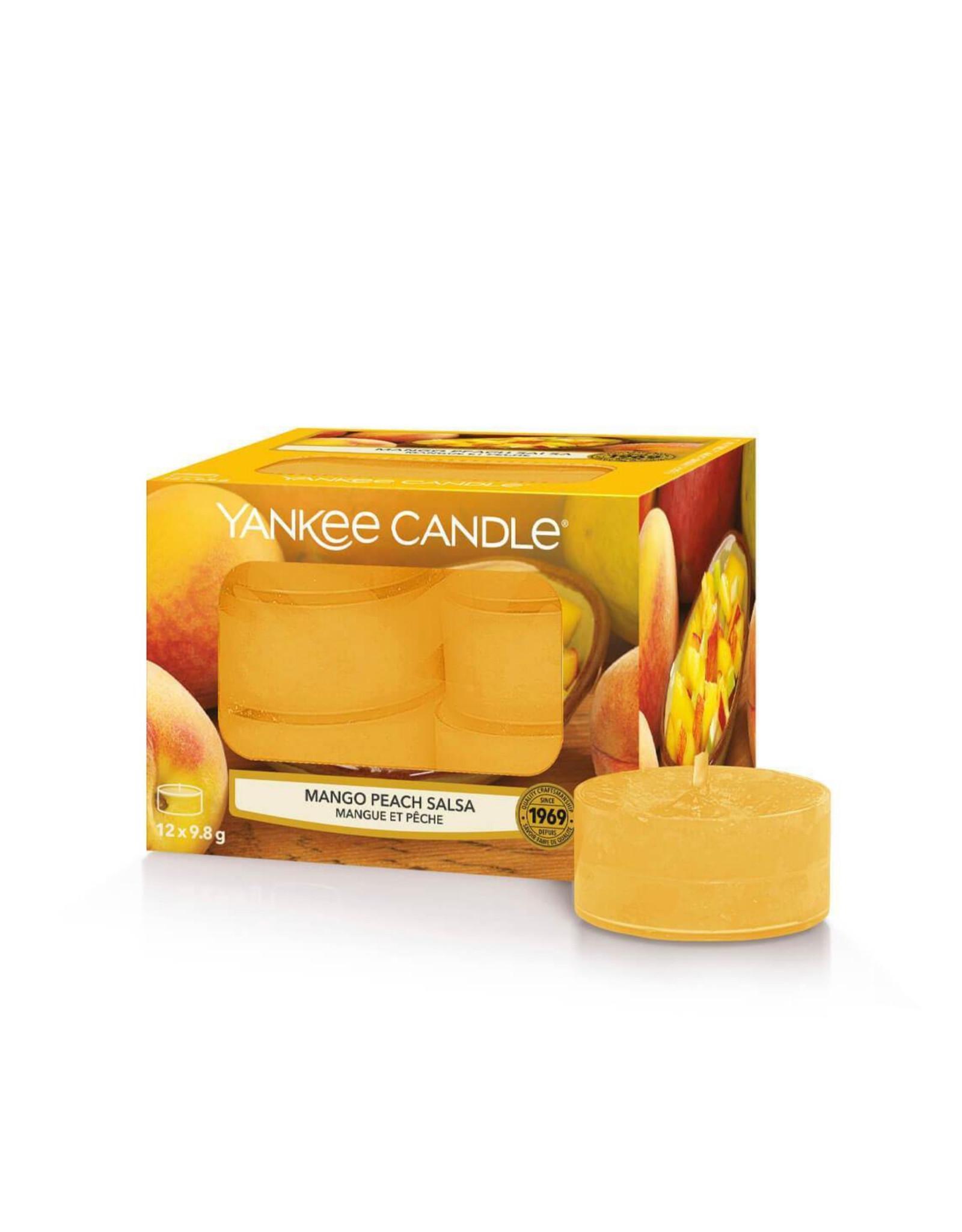 Yankee Candle Mango Peach Salsa - Tea Lights