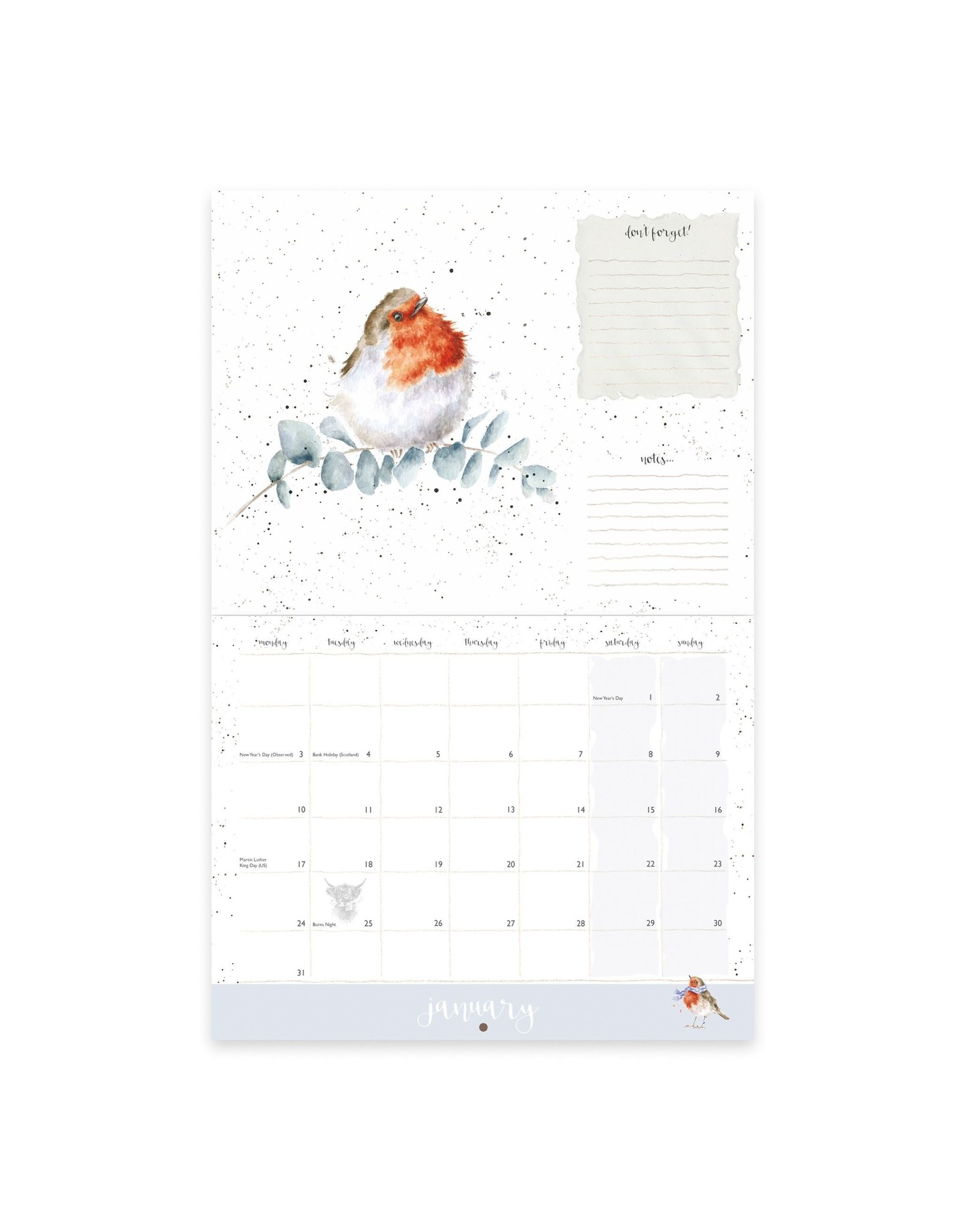 Wrendale Kalender 2022 - Landscape