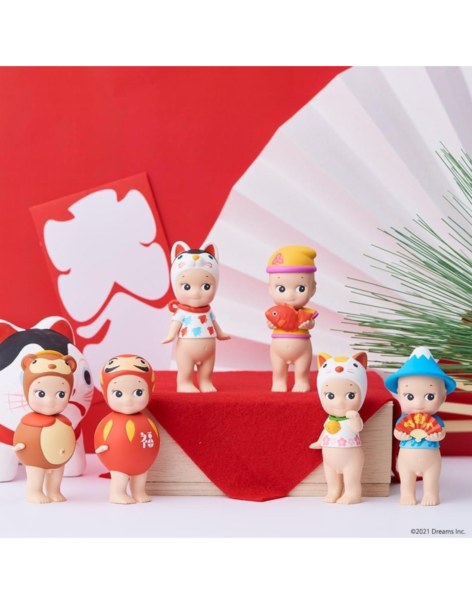 Sonny Angel Japanese Good Luck Series - Box van 12
