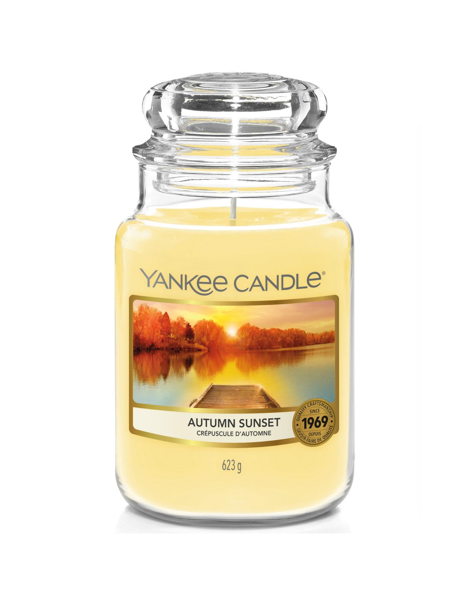 Yankee Candle Autumn Sunset - Large Jar