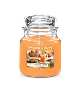 Yankee Candle Farm Fresh Peach - Medium Jar
