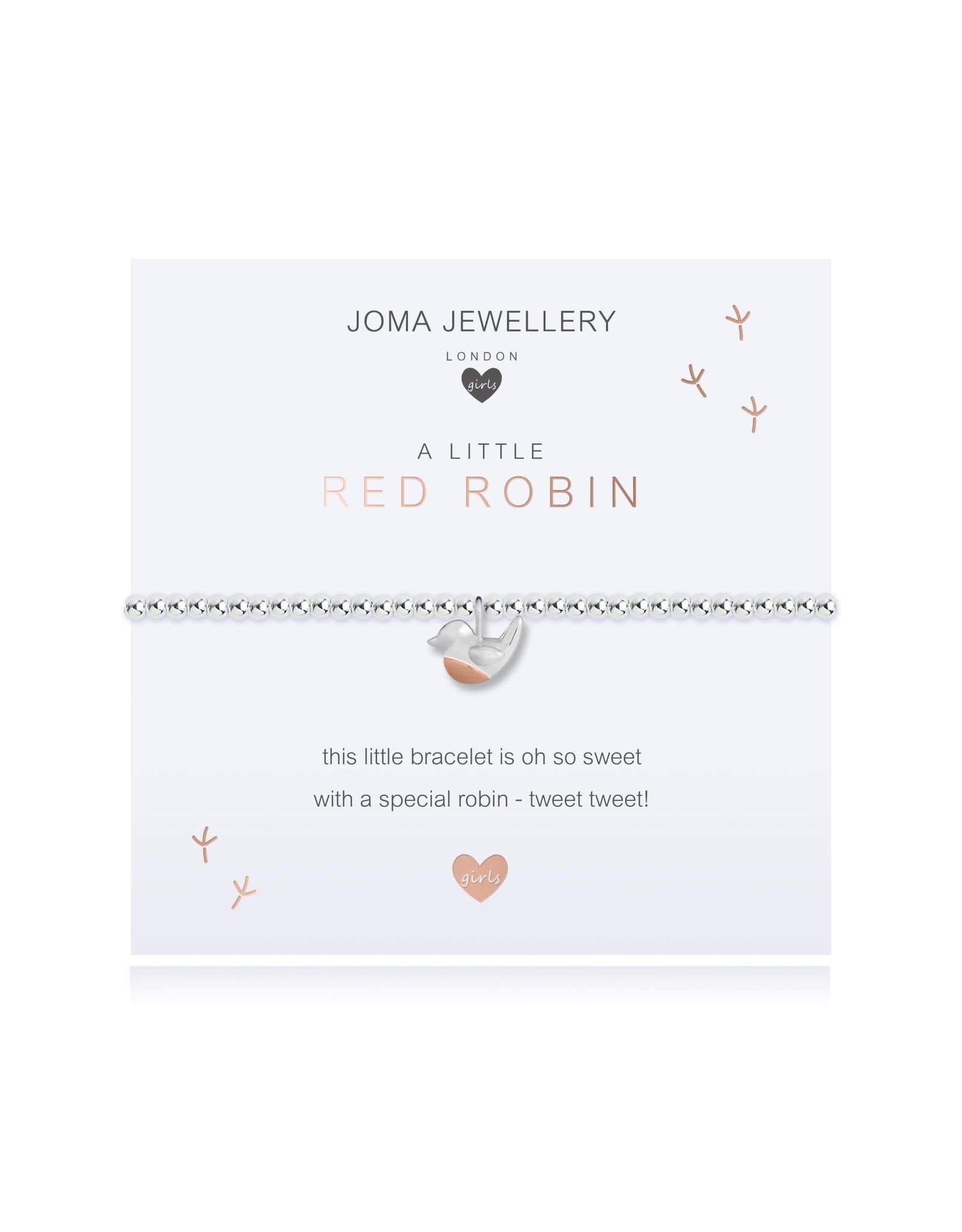 Joma Jewellery Kids - A Little - Red Robin