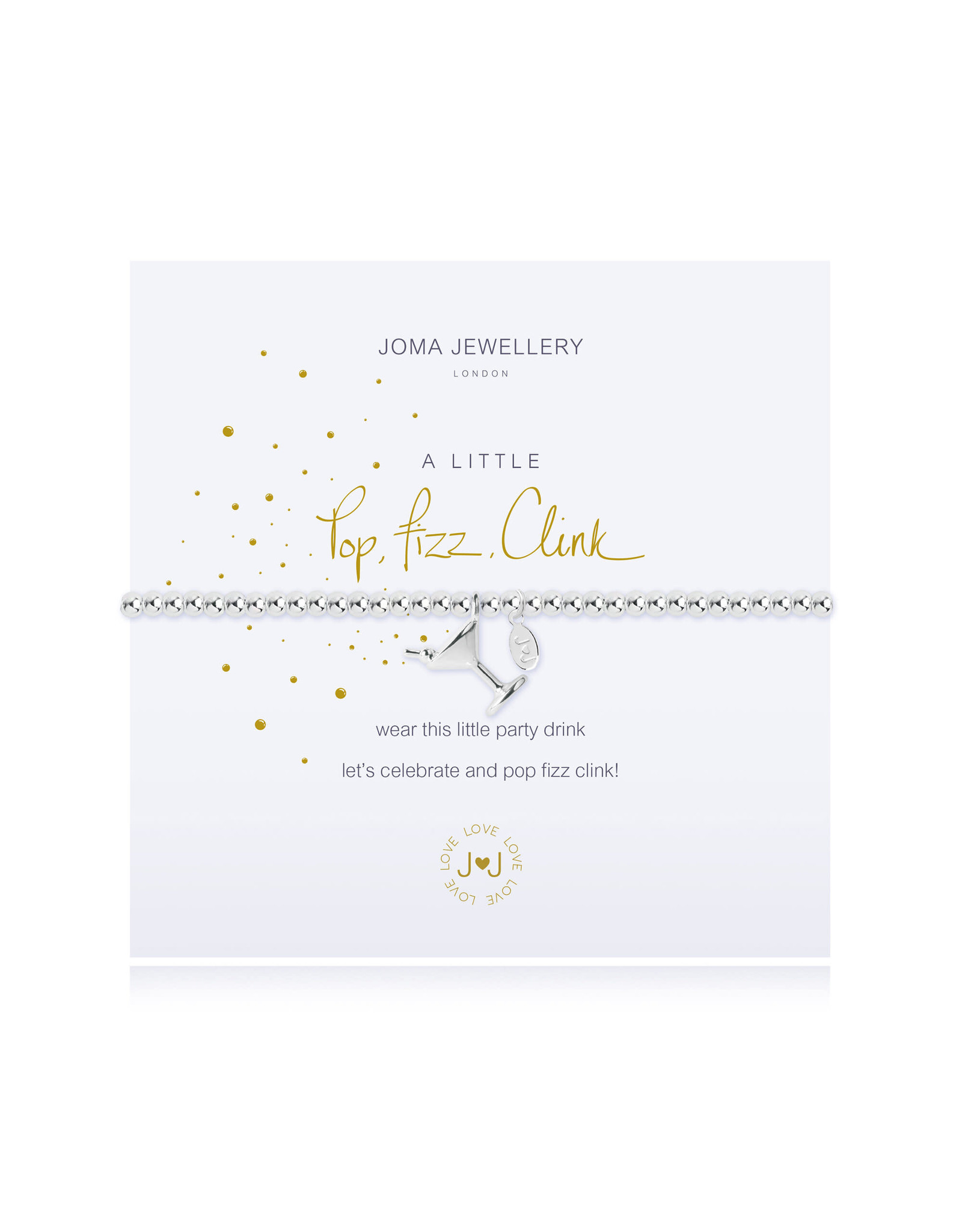 Joma Jewellery A Little - Pop Fizz Clink - Armband