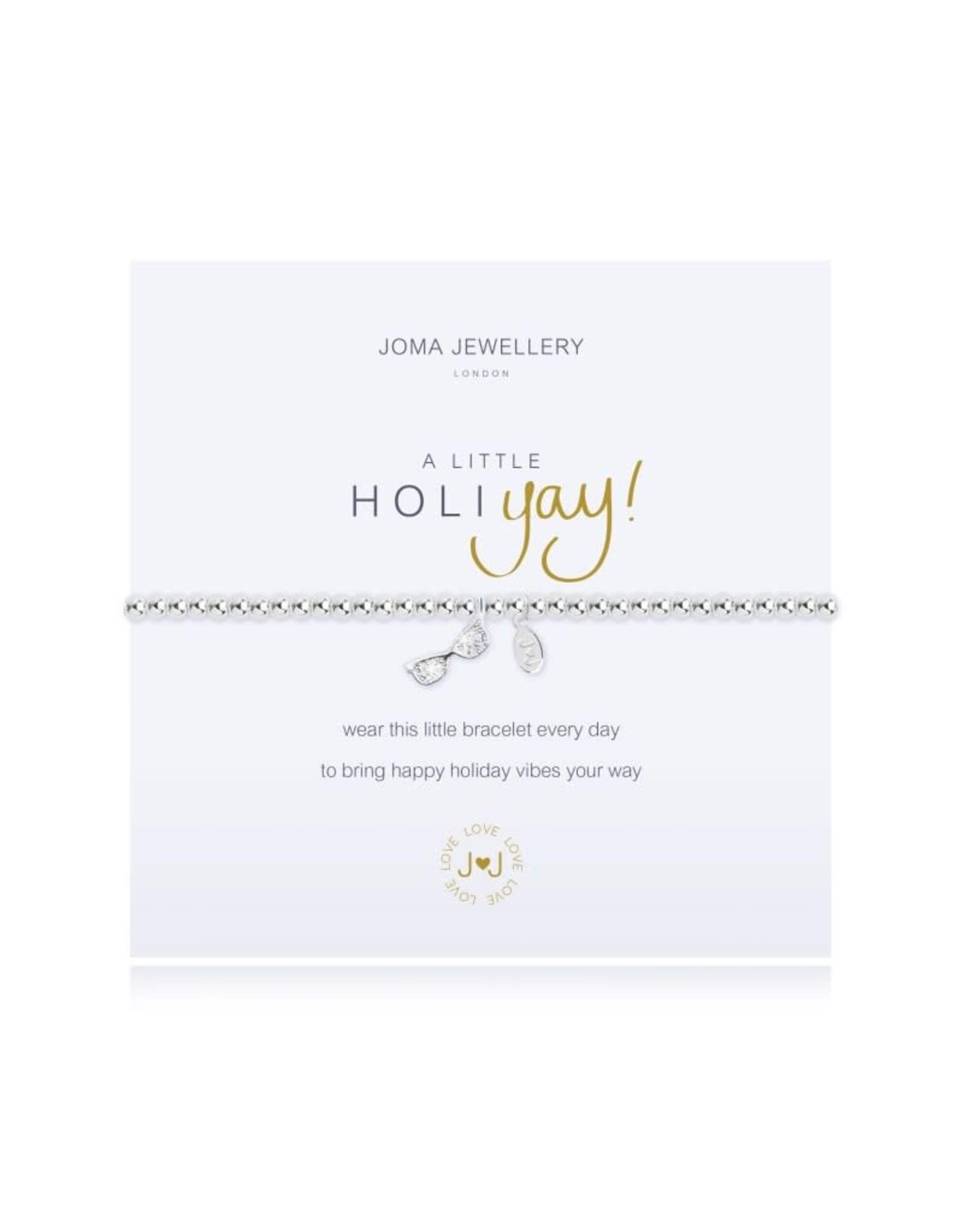 Joma Jewellery A Little - Holi-YAY - Armband