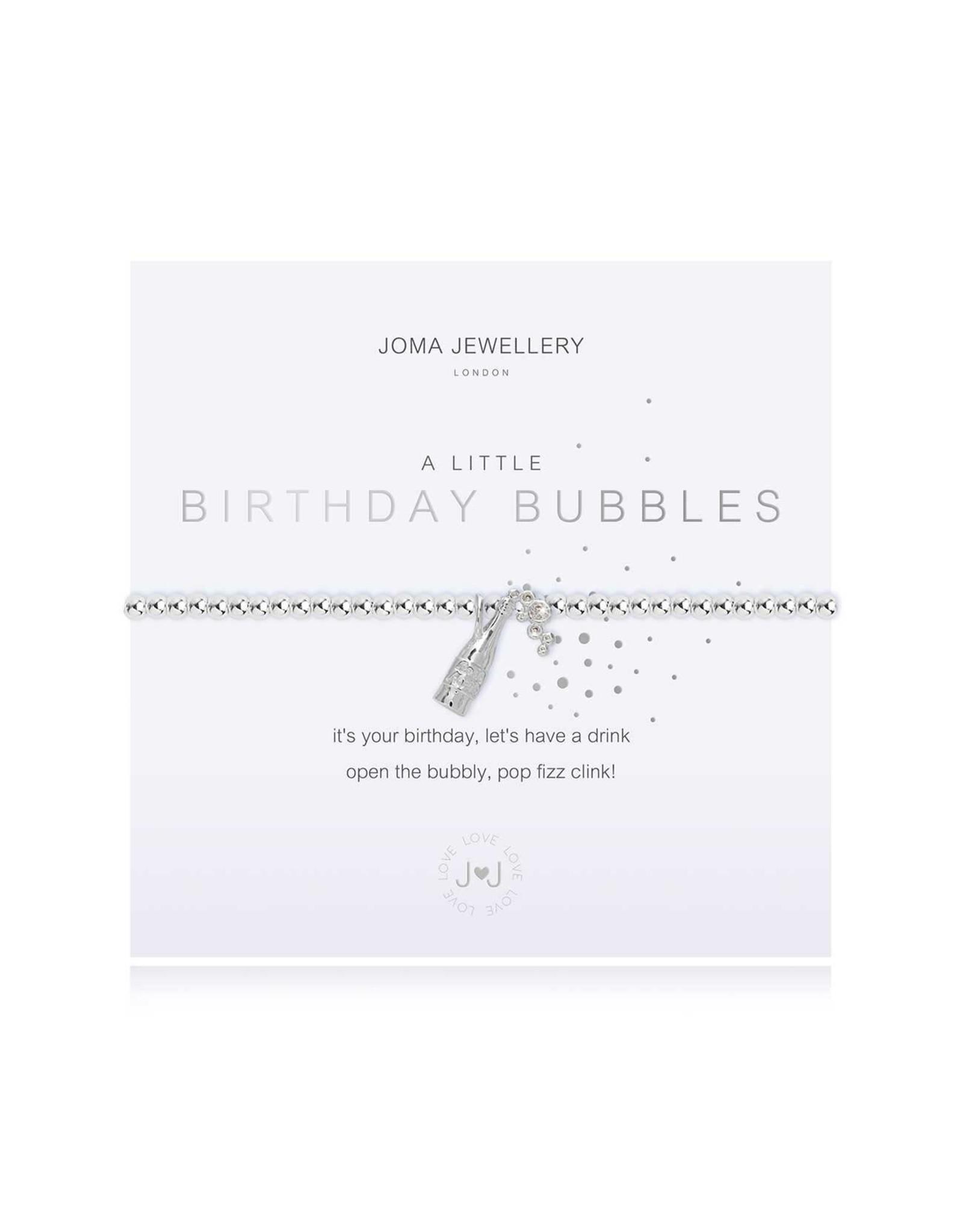 Joma Jewellery A Little - Birthday Bubbles - Armband
