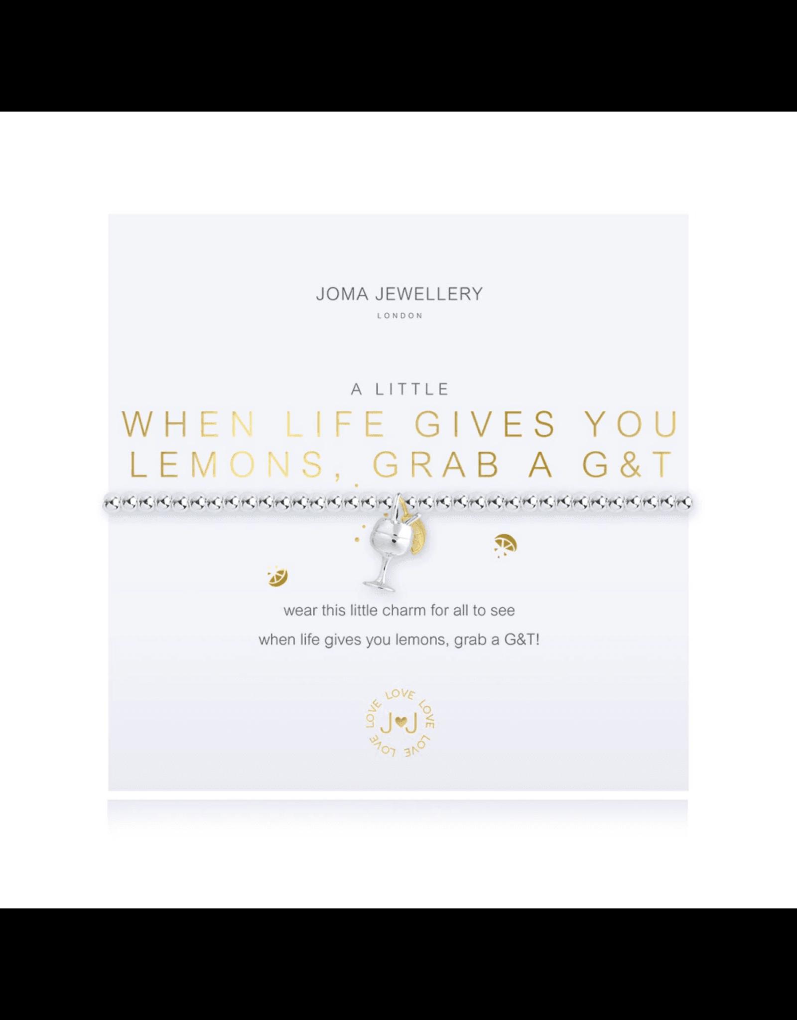 Joma Jewellery A Little - When life gives you Lemons - Armband