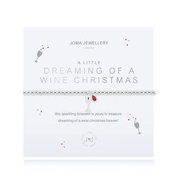 Joma Jewellery A Little - Dreaming of a Wine Christmas - Armband