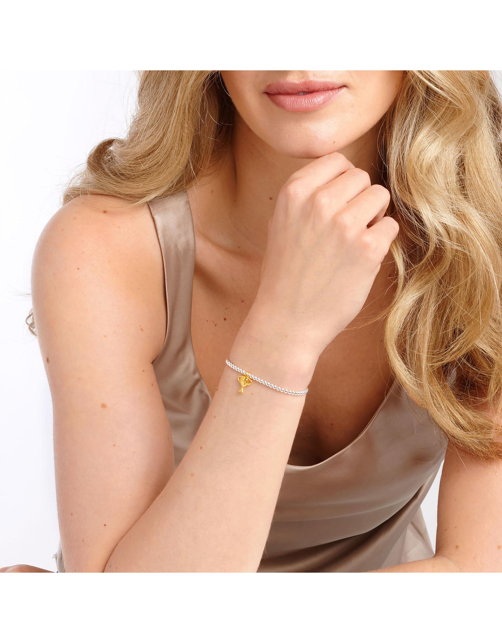 Joma Jewellery A Little - Number 1 Mum - Armband