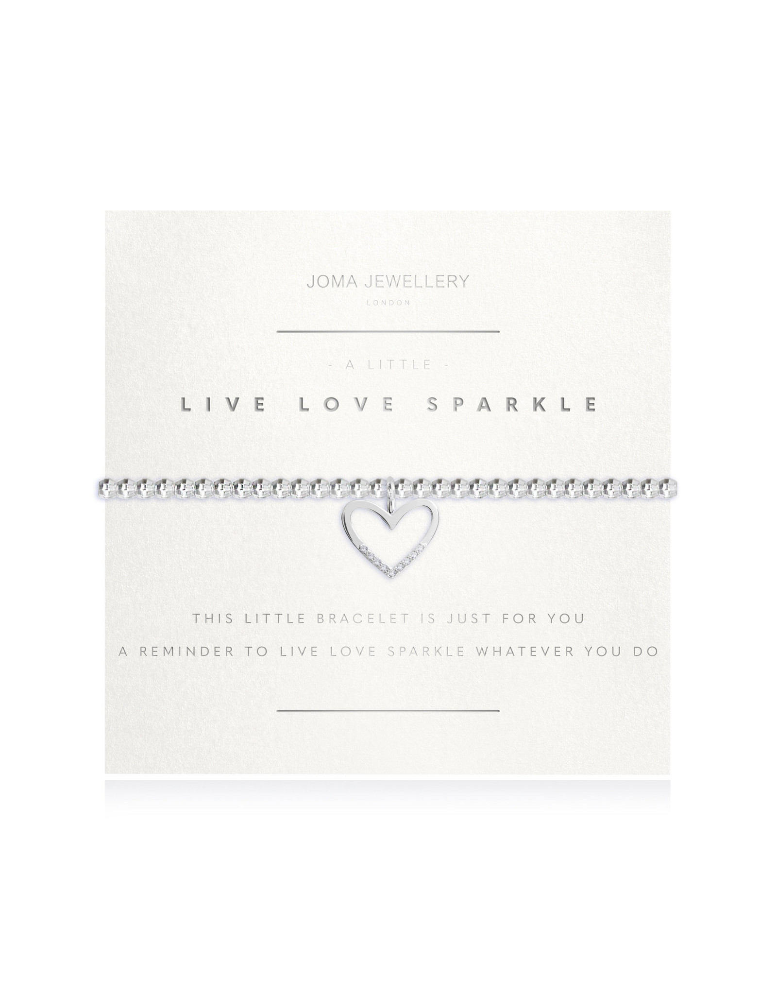 Joma Jewellery A Little - Live Love Sparkle - Armband