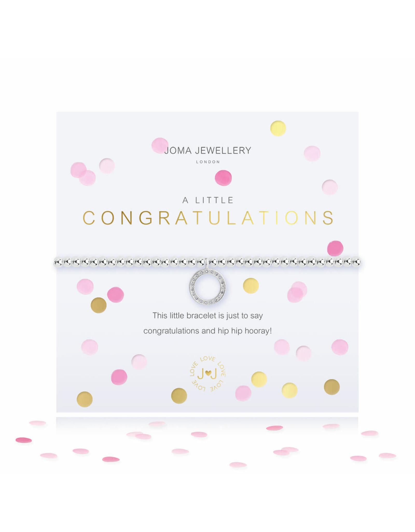 Joma Jewellery A Little - Congratulations - Armband