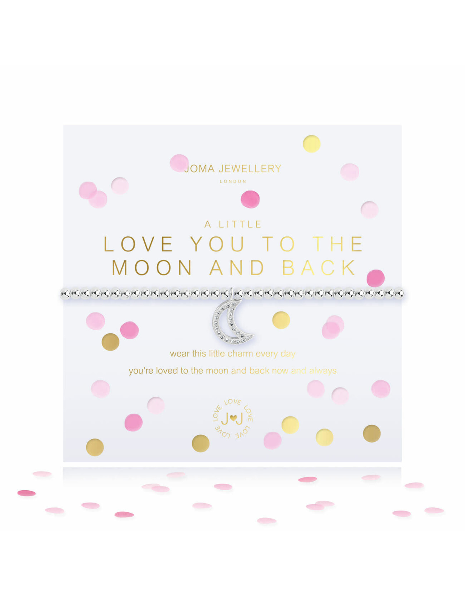 Joma Jewellery A Little - Love You to the Moon and Back - Armband