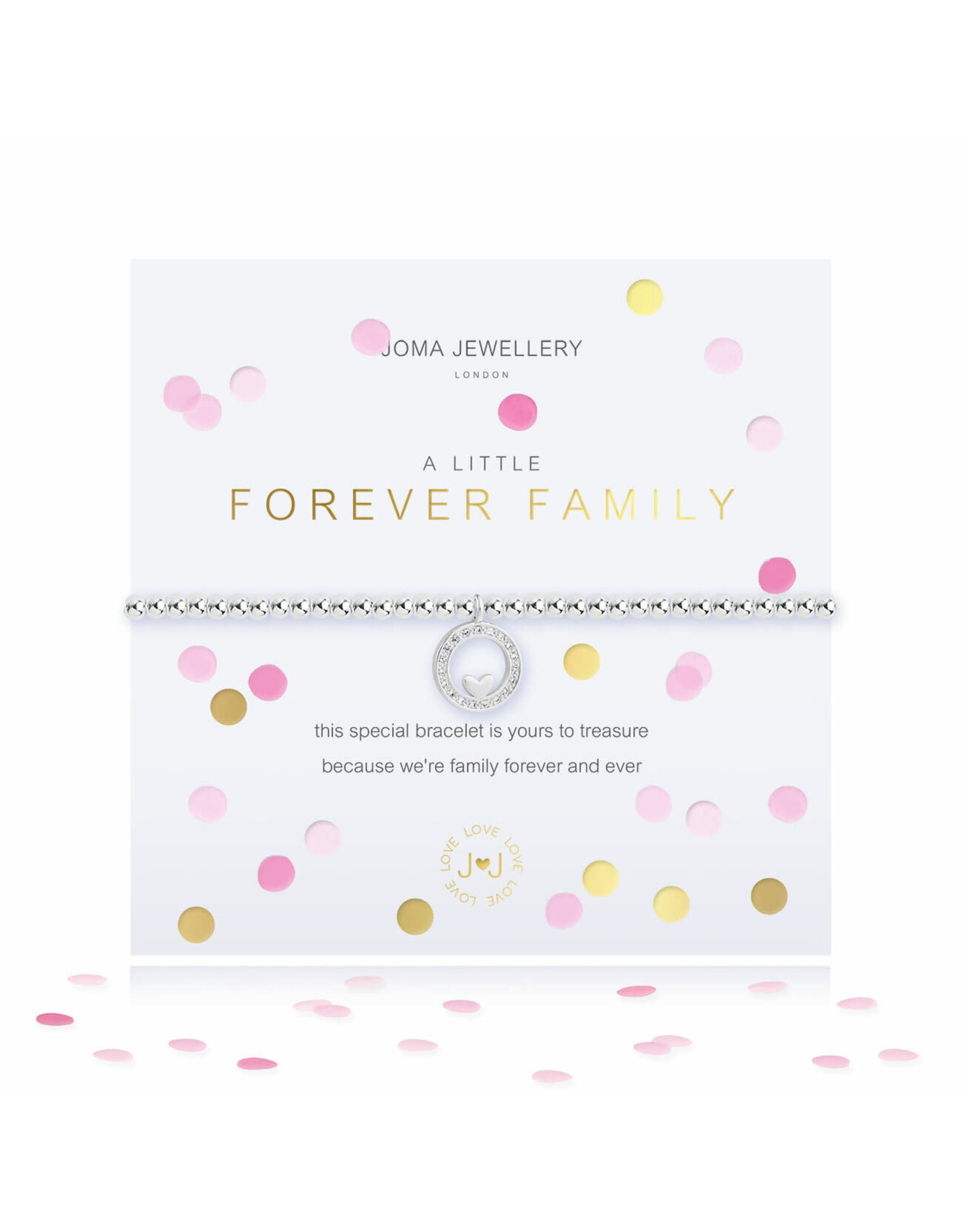 Joma Jewellery A Little - Forever Family - Armband