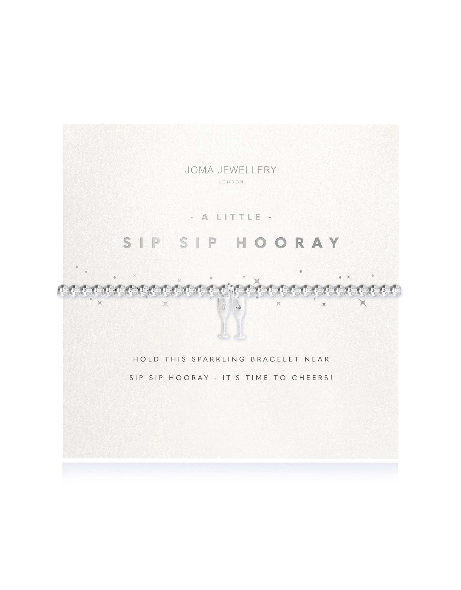 Joma Jewellery A Little - Sip Sip Hooray - Armband