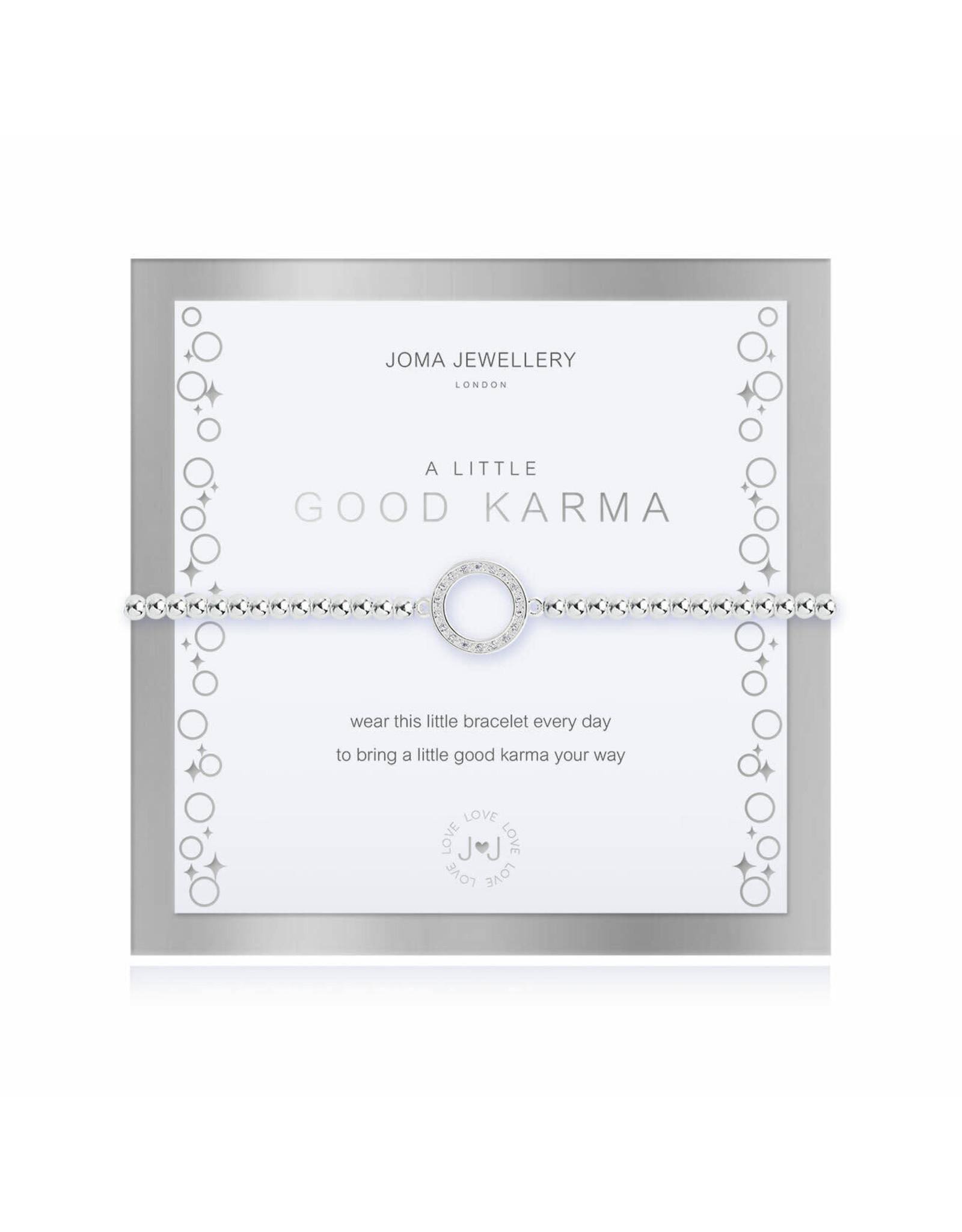 Joma Jewellery Boxed A Little - Good Karma - Armband