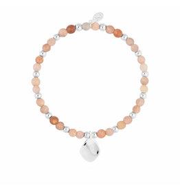 Joma Jewellery Wellness Gems - Sunstone - Armband