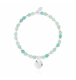 Joma Jewellery Wellness Gems - Amazonite - Armband