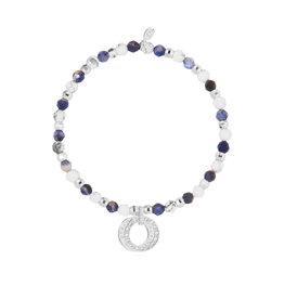 Joma Jewellery Wellness Gems - Howlite & Blue Lace Agate - Armband