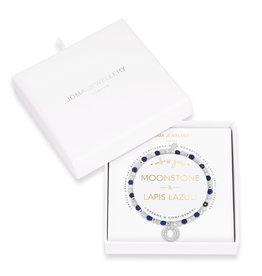 Joma Jewellery Wellness Gems - Lapis Lazuli & Moonstone - Armband